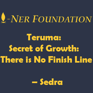 Teruma-  Secret of Growth- There is No Finish Line