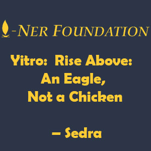 Yitro-  Rise Above-An Eagle Not a Chicken